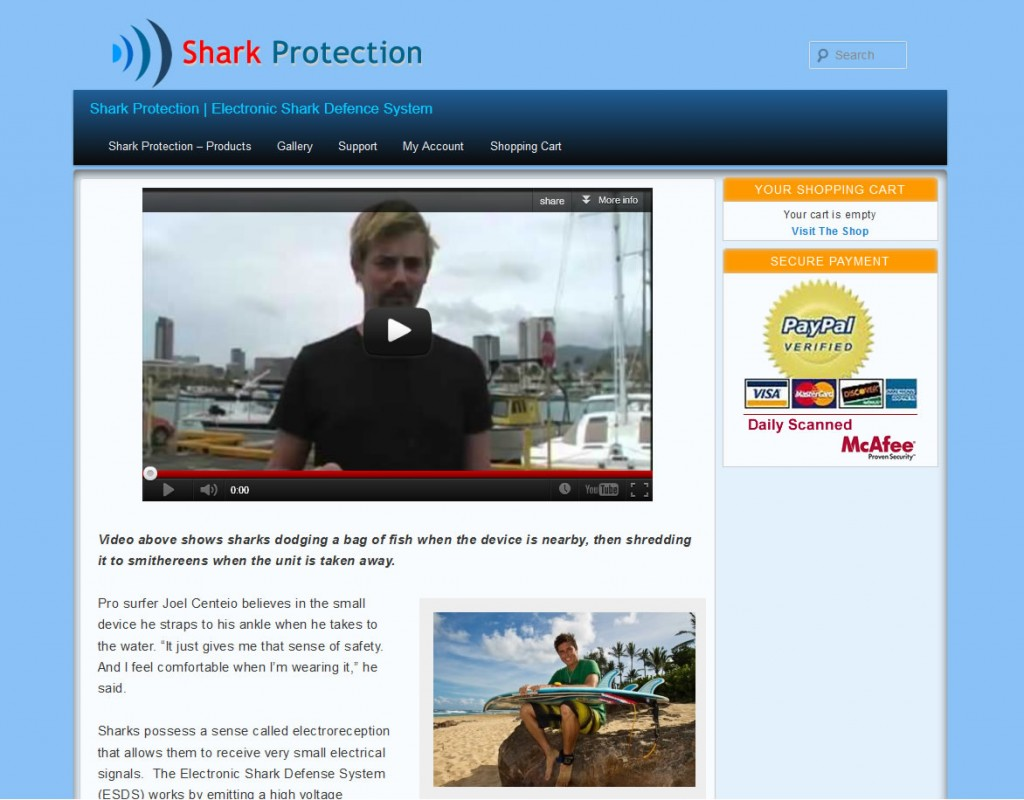 Shark Protection | Electronic Shark Defence System