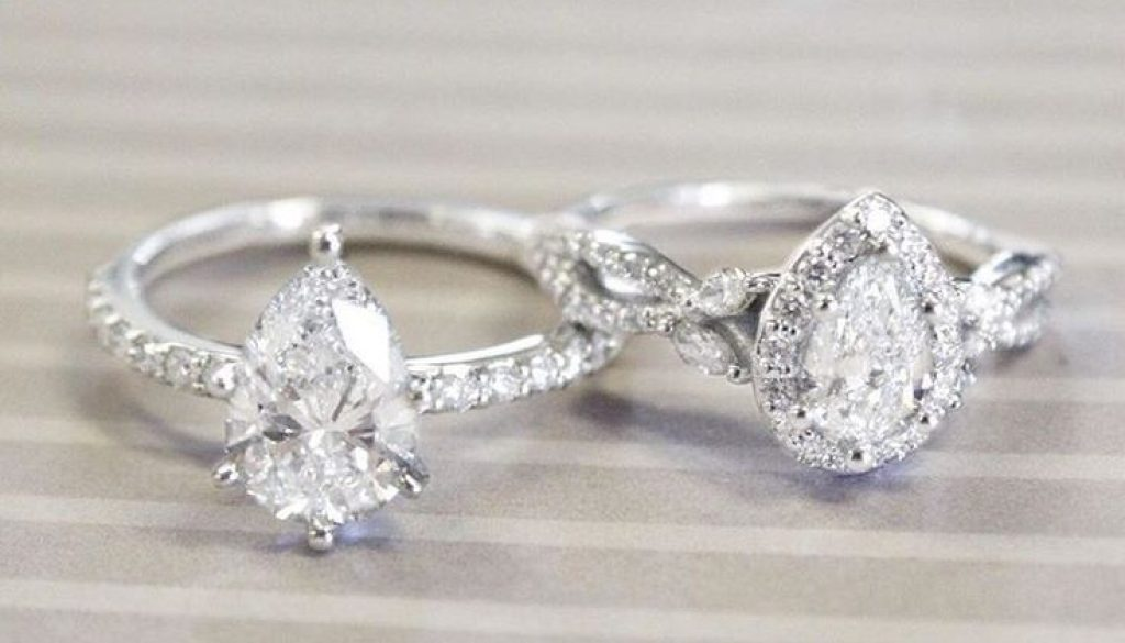 Pear Shaped Diamonds And Engagement Rings