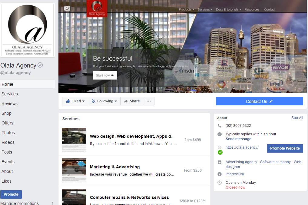 Web Development & Social Media Advertising